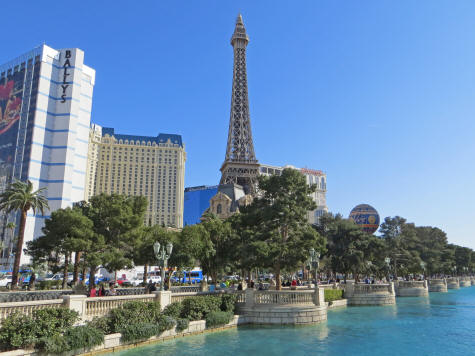 Eiffel Tower, Las Vegas USA