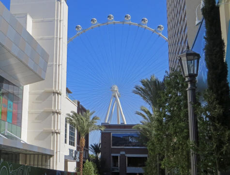 High Roller Ferris Wheel, Las Vegas USA